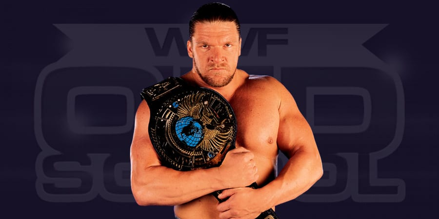 Triple H as the WWF Champion