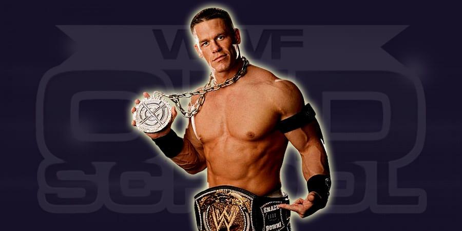 John Cena as WWE Champion in 2005