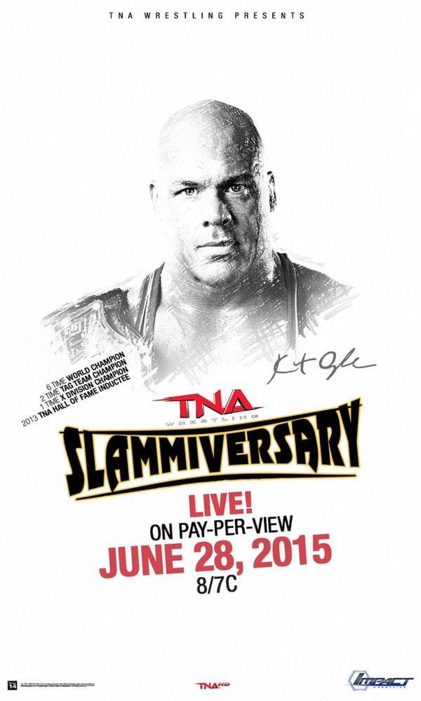 TNA Slammiversary XIII Poster - 2015