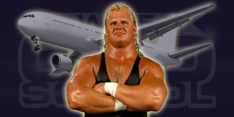 Plane ride from hell wwe