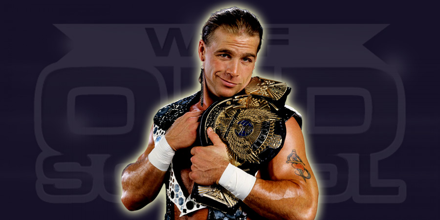 Shawn Michaels as WWF Champion