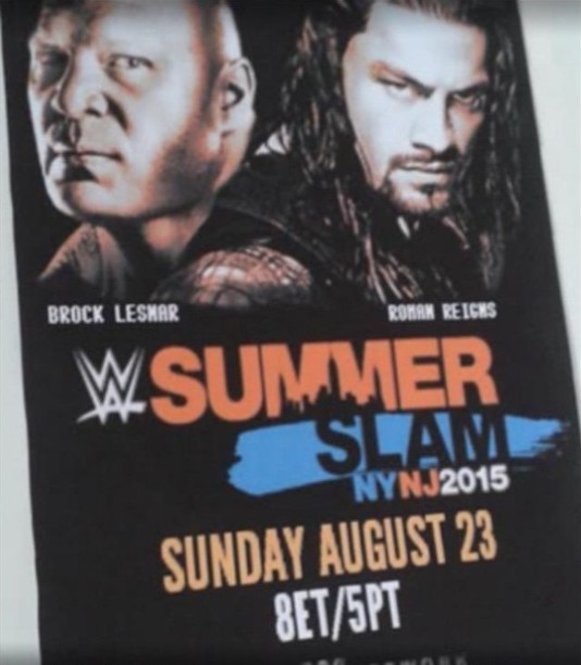 SummerSlam 2015 Main Event Leaked