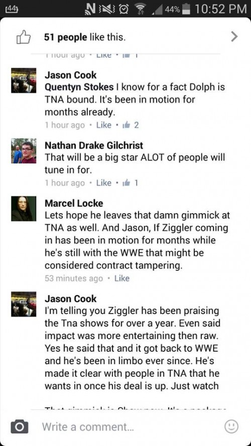 TNA Writer Claims Dolph Ziggler Is Going To TNA