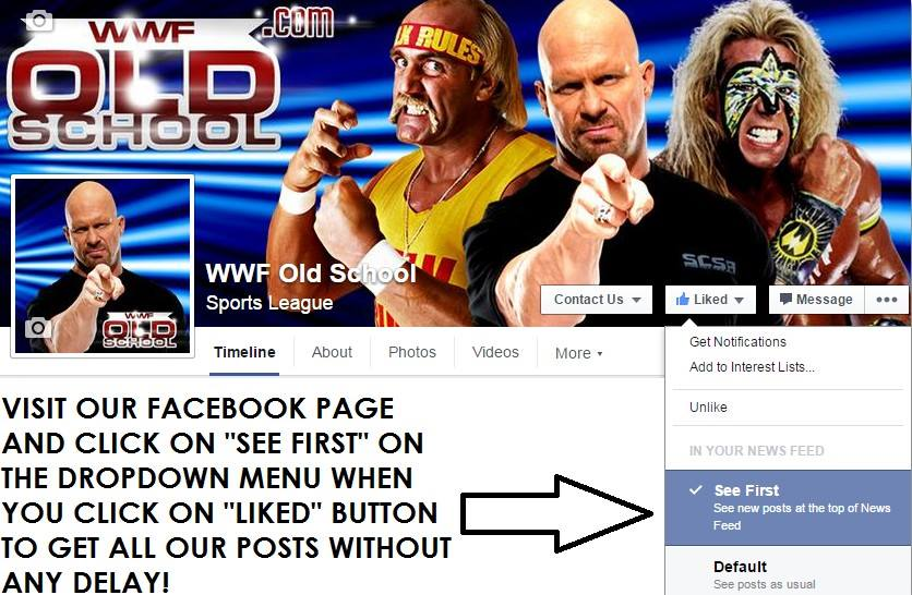 Get all our FB posts - WWF Old School