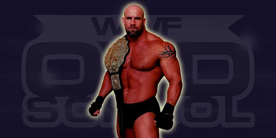 Goldberg as WCW World Heavyweight Champion