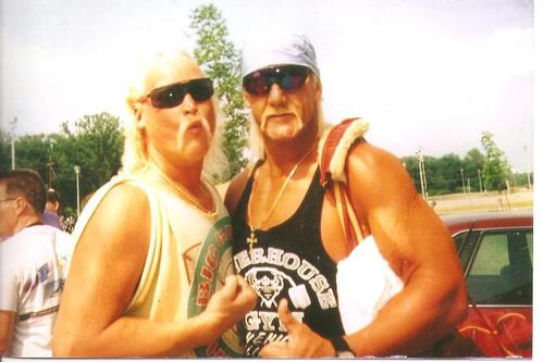 Roddy Hogan with Hulk Hogan