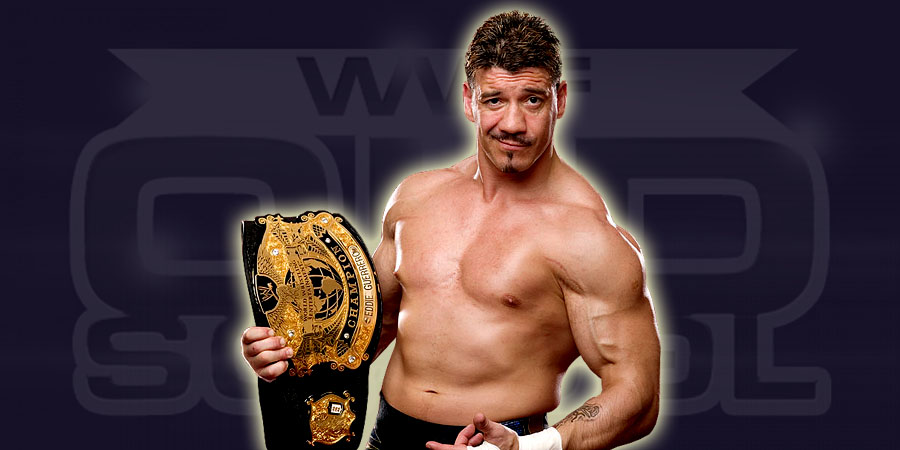Eddie Guerrero as the WWE Champion in 2004