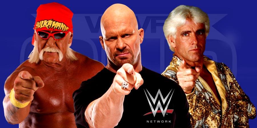 Hulk Hogan, Stone Cold Steve Austin & Ric Flair