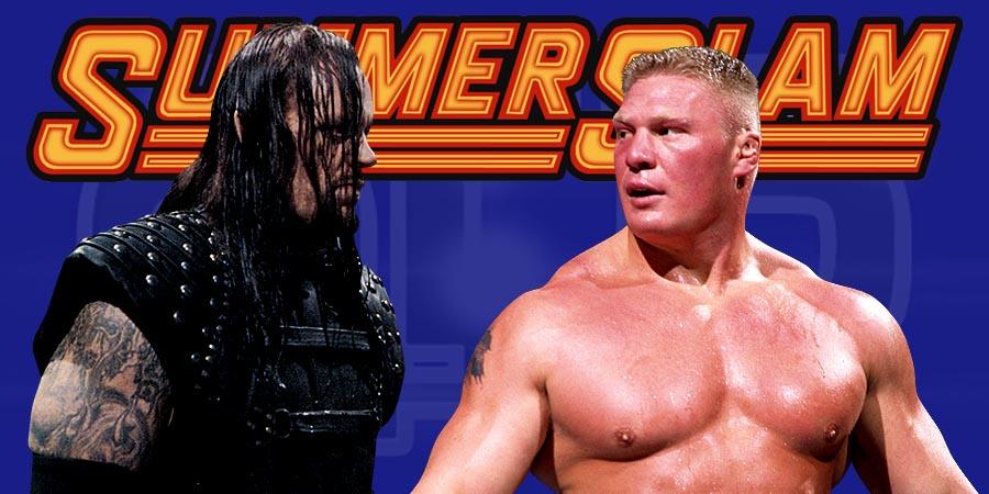 The Undertaker vs. Brock Lesnar - WWE SummerSlam 2015
