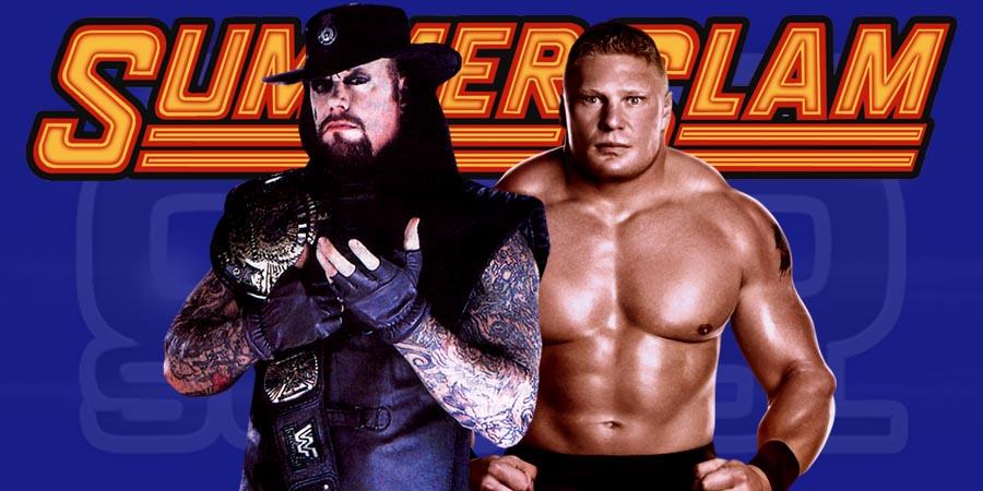 WWE SummerSlam 2015 - The Undertaker vs. Brock Lesnar