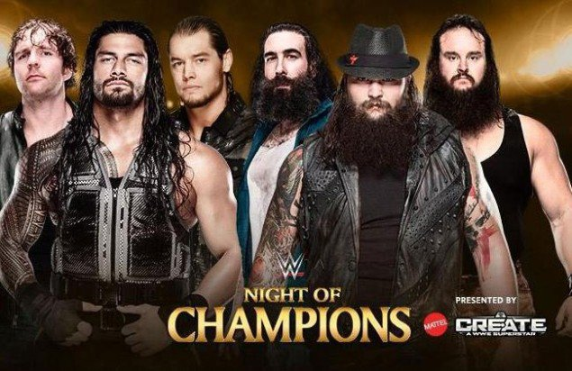 Baron Corbin to be surprise partner of Dean Ambrose & Roman Reigns at Night of Champion 2015