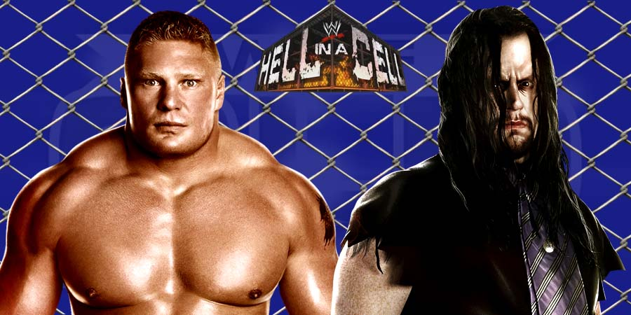 Brock Lesnar vs. The Undertaker - WWE Hell in a Cell 2015