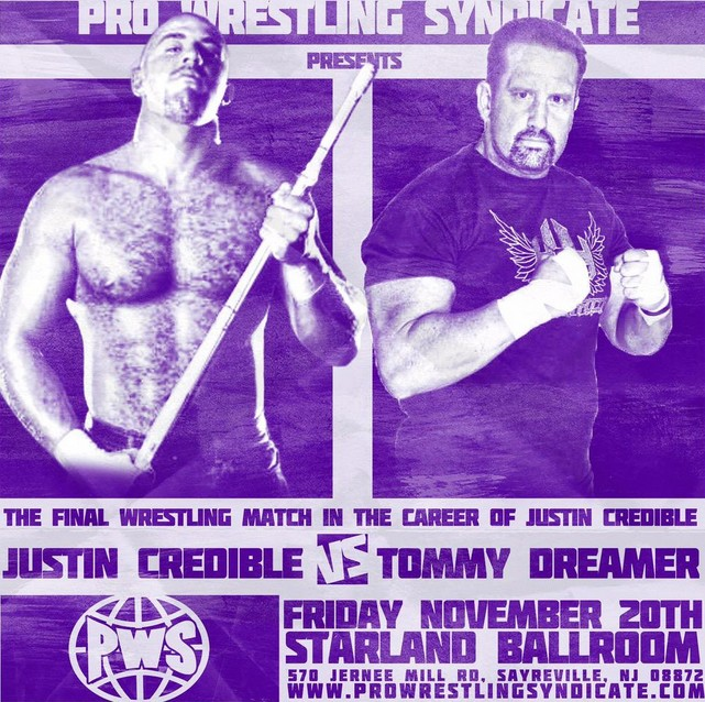 Justin Credible Retiring From Professional Wrestling in 2015