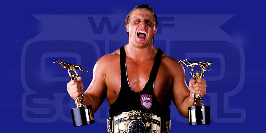 Owen Hart as the WWF Intercontinental Champion & Slammy Awards