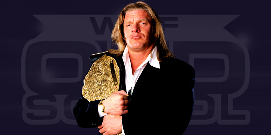 Triple H as the World Heavyweight Champion
