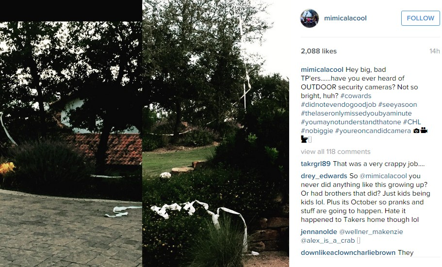 Undertaker & Michelle McCool's Home TPed
