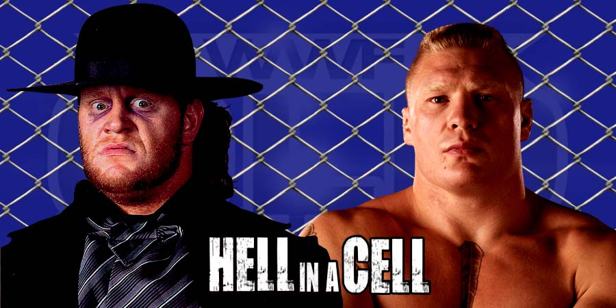 WWE Hell in a Cell 2015 - The Undertaker vs. Brock Lesnar inside Hell in a Cell