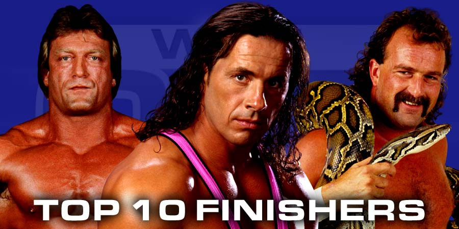 10 Greatest Old School Wrestling Finishers
