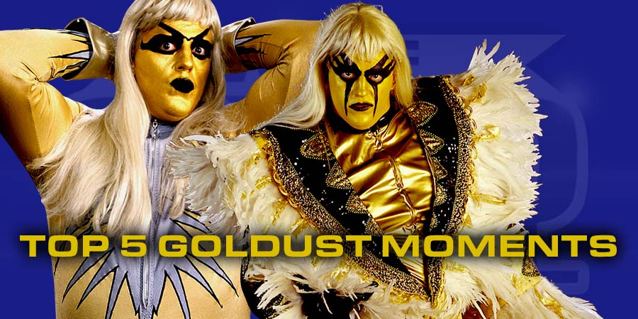 5 Greatest Moments of Goldust's Career