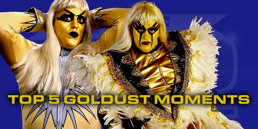 5 Greatest Moments of Goldust's Career