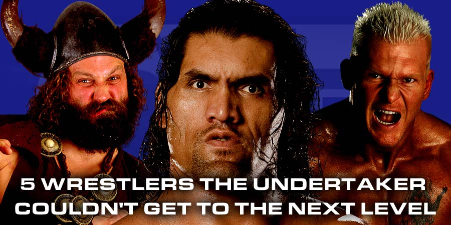 5 Wrestlers The Undertaker Couldn't Get To The Next Level