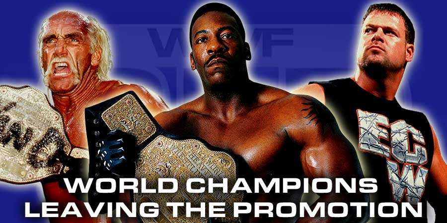 5 Wrestlers Who Left Their Company As World Champions