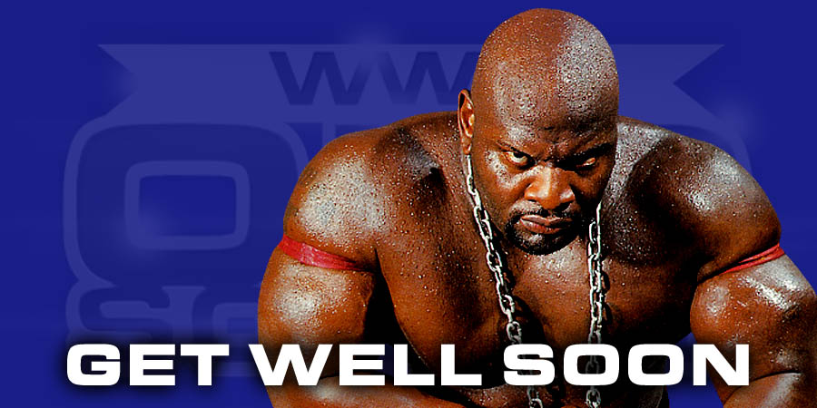 Ahmed Johnson dealing with severe illness