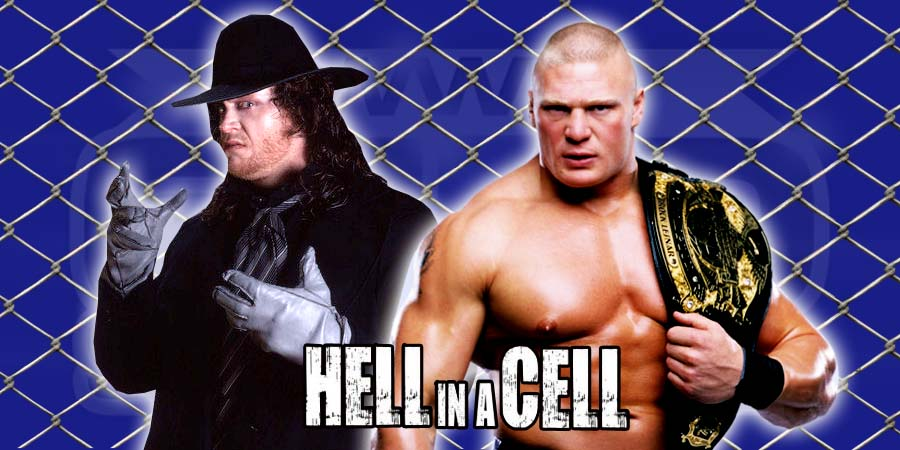 WWE Hell in a Cell 2015 - The Undertaker vs. Brock Lesnar