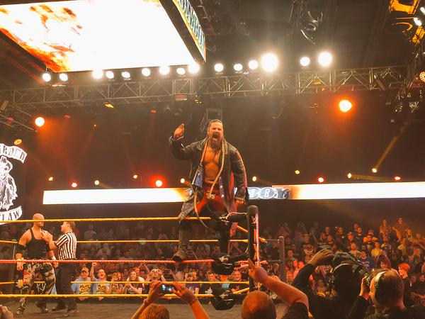 James Storm Debuts In WWE NXT