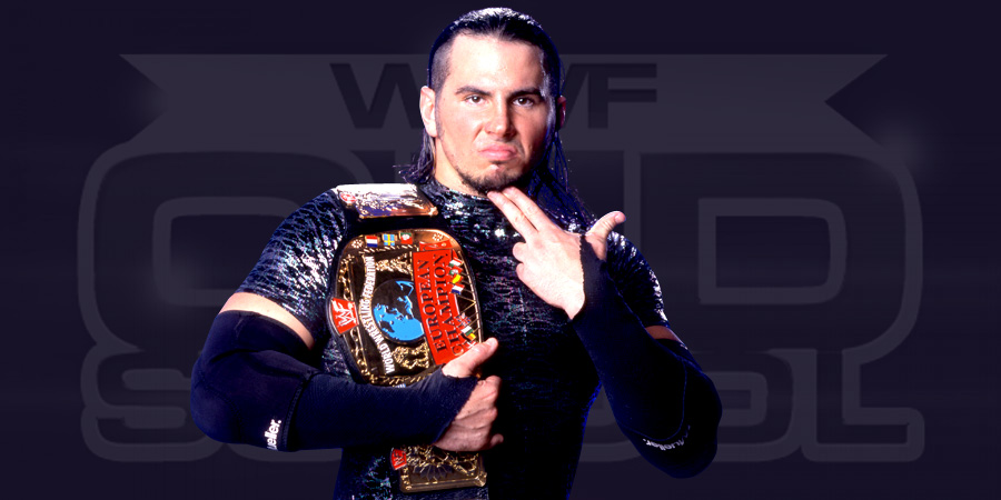 Matt Hardy as the WWF European Champion