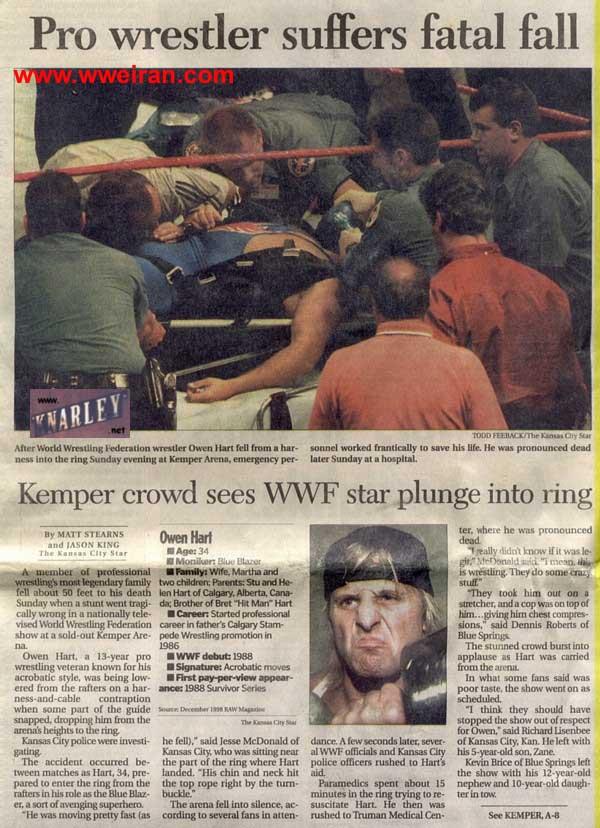 Owen Hart's Death 9