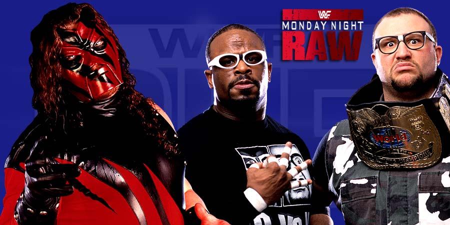 WWE Raw 2015 - Kane & Dudley Boyz
