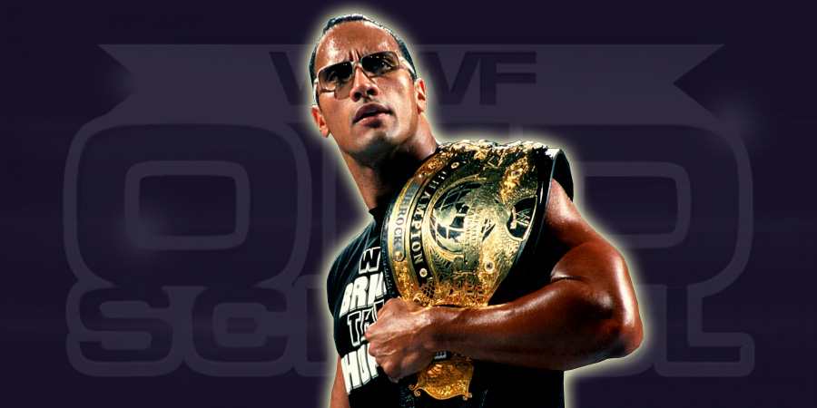 The Rock as Undisputed WWE Champion
