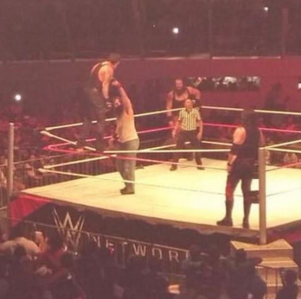 Undertaker hits Old School on Luke Harper