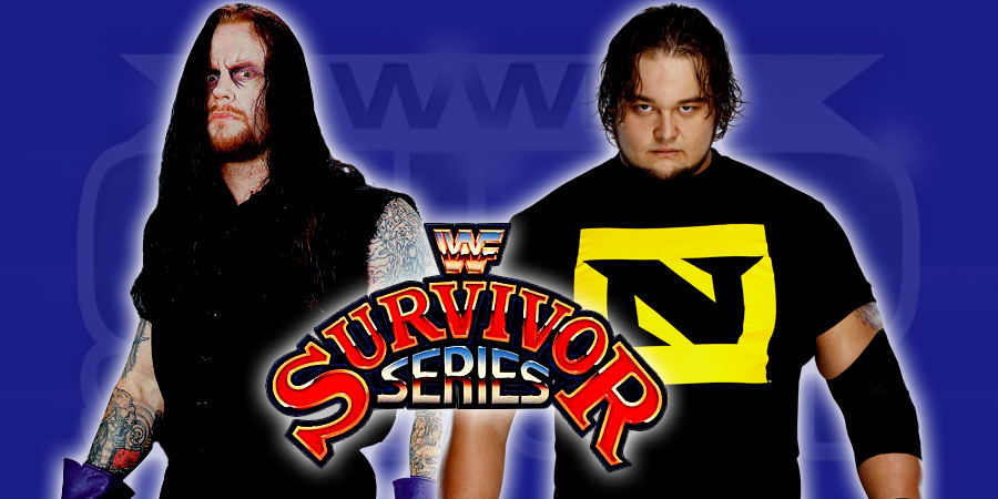 WWE Survivor Series 2015 - 25 Years of Undertaker - Undertaker vs. Wyatt Family