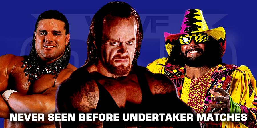 5 Never Seen Before Undertaker Matches