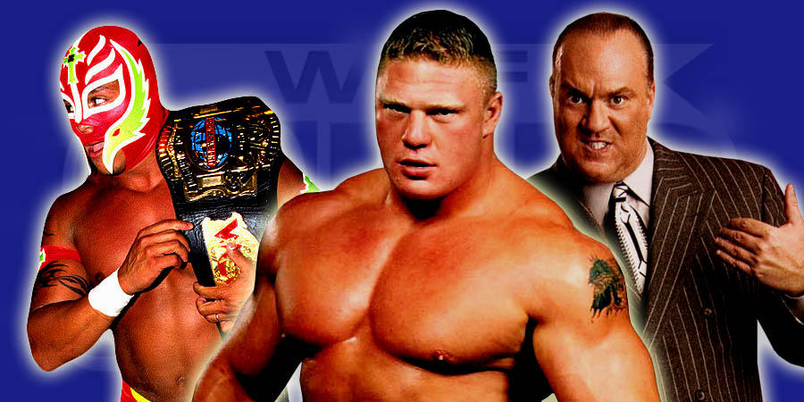 5 Wrestlers You Didn't Know Brock Lesnar Faced