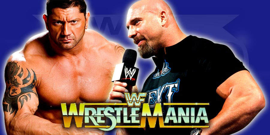 Batista & Goldberg WrestleMania