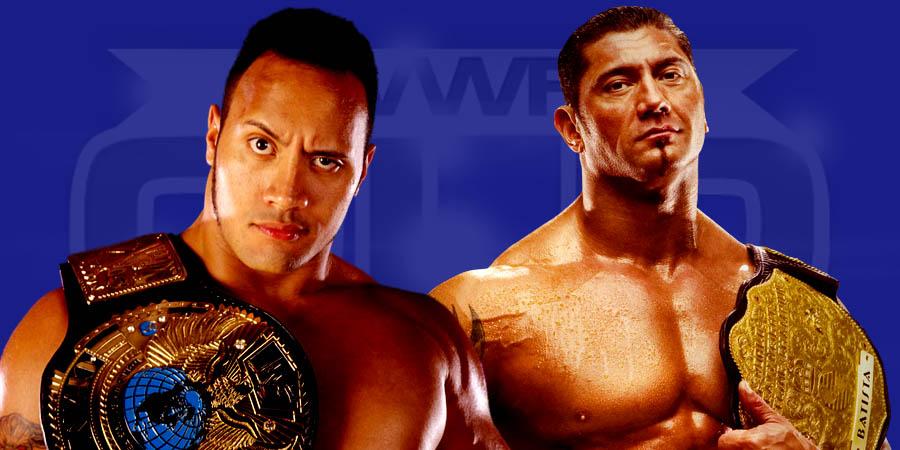 Batista vs. The Rock - WrestleMania
