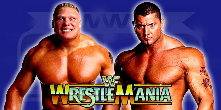Brock Lesnar vs. Batista - WrestleMania 32