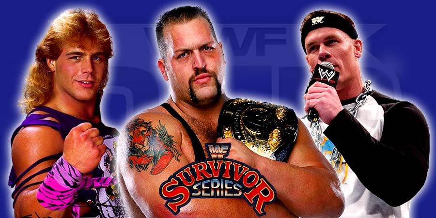 Wrestlers With The Most Survivor Series PPV Wins