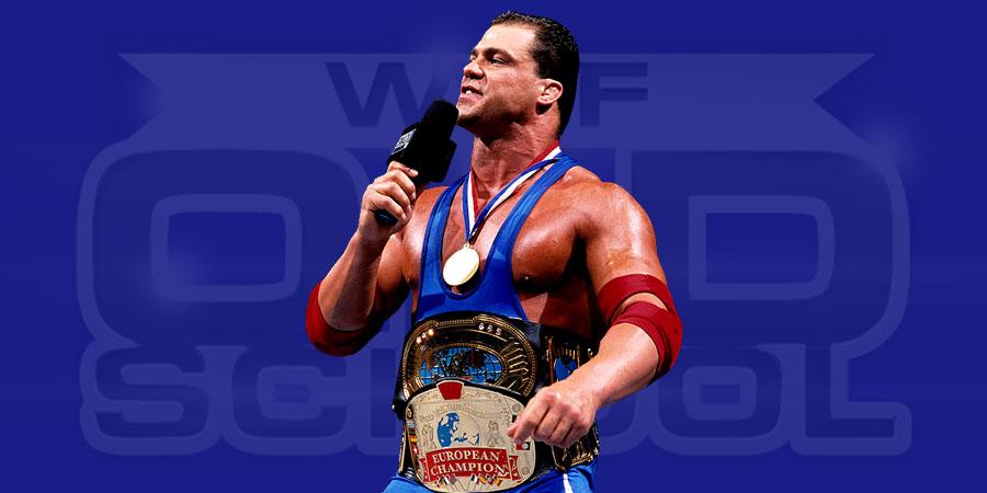 Kurt Angle as the WWF Euro-Continental Champion