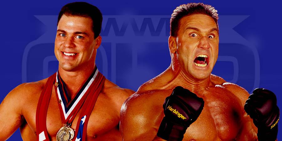 Kurt Angle vs. Ken Shamrock - Bellator MMA