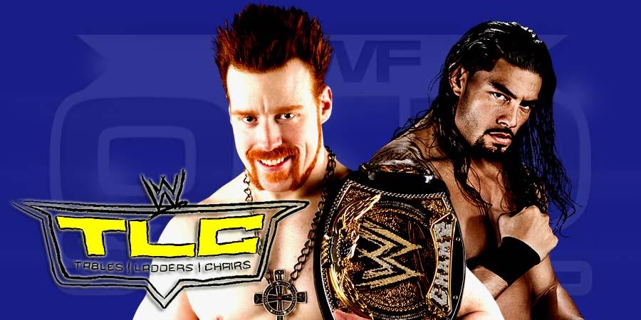 Sheamus vs. Roman Reigns - TLC Match For WWE World Heavyweight Championship - WWE TLC 2015