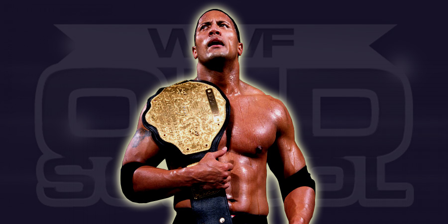 The Rock as WCW Champion
