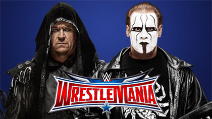 The Undertaker vs. Sting - WrestleMania 32