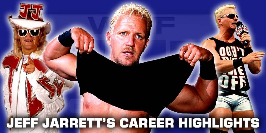 Top 10 Moments of Jeff Jarrett - Career Highlights