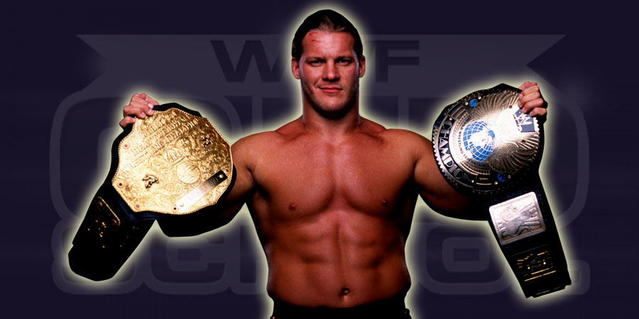 Chris Jericho as the 1st ever Undisputed WWF Champion