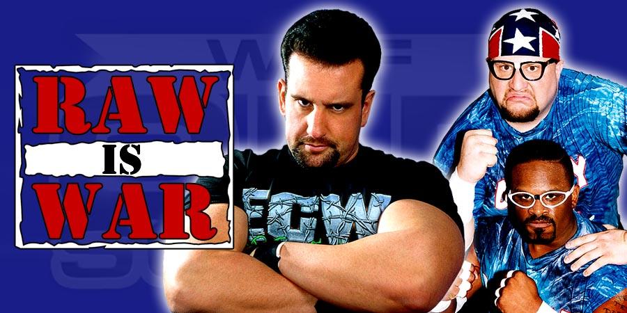 ECW Originals on WWE Raw 2015