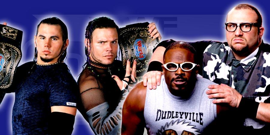 Hardy Boyz vs. Dudley Boyz - WrestleMania 32